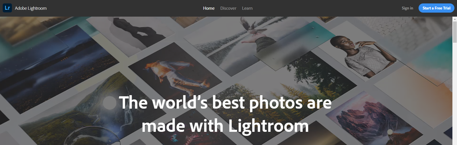 Lightroom on the web