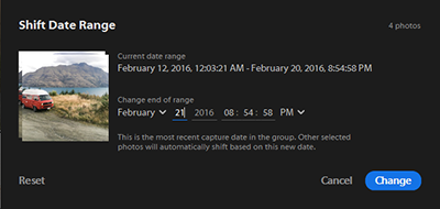 Edit Date and Time