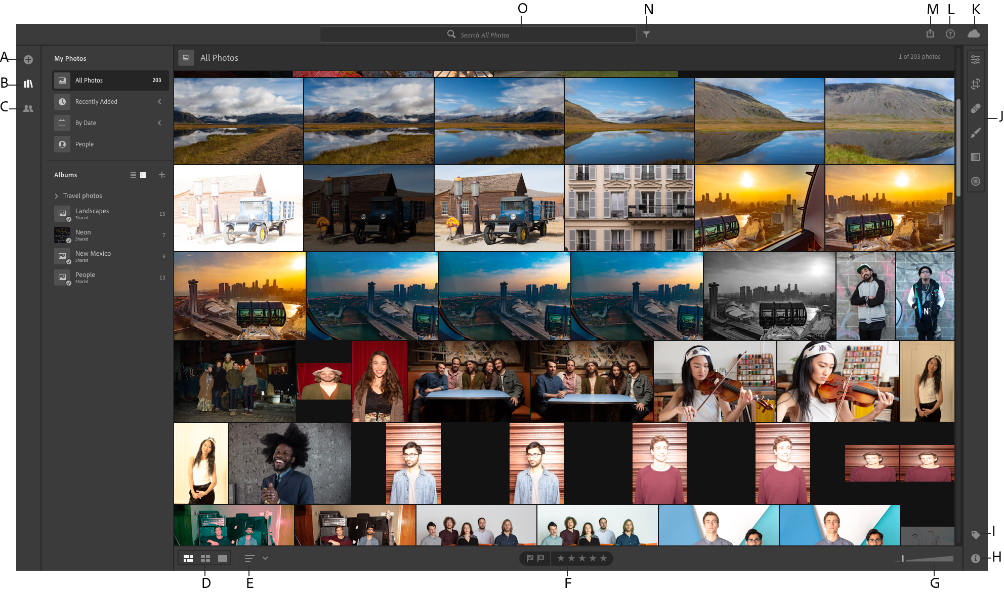 Organize your photos in Lightroom