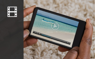 Import and playback videos on Lightroom for Android