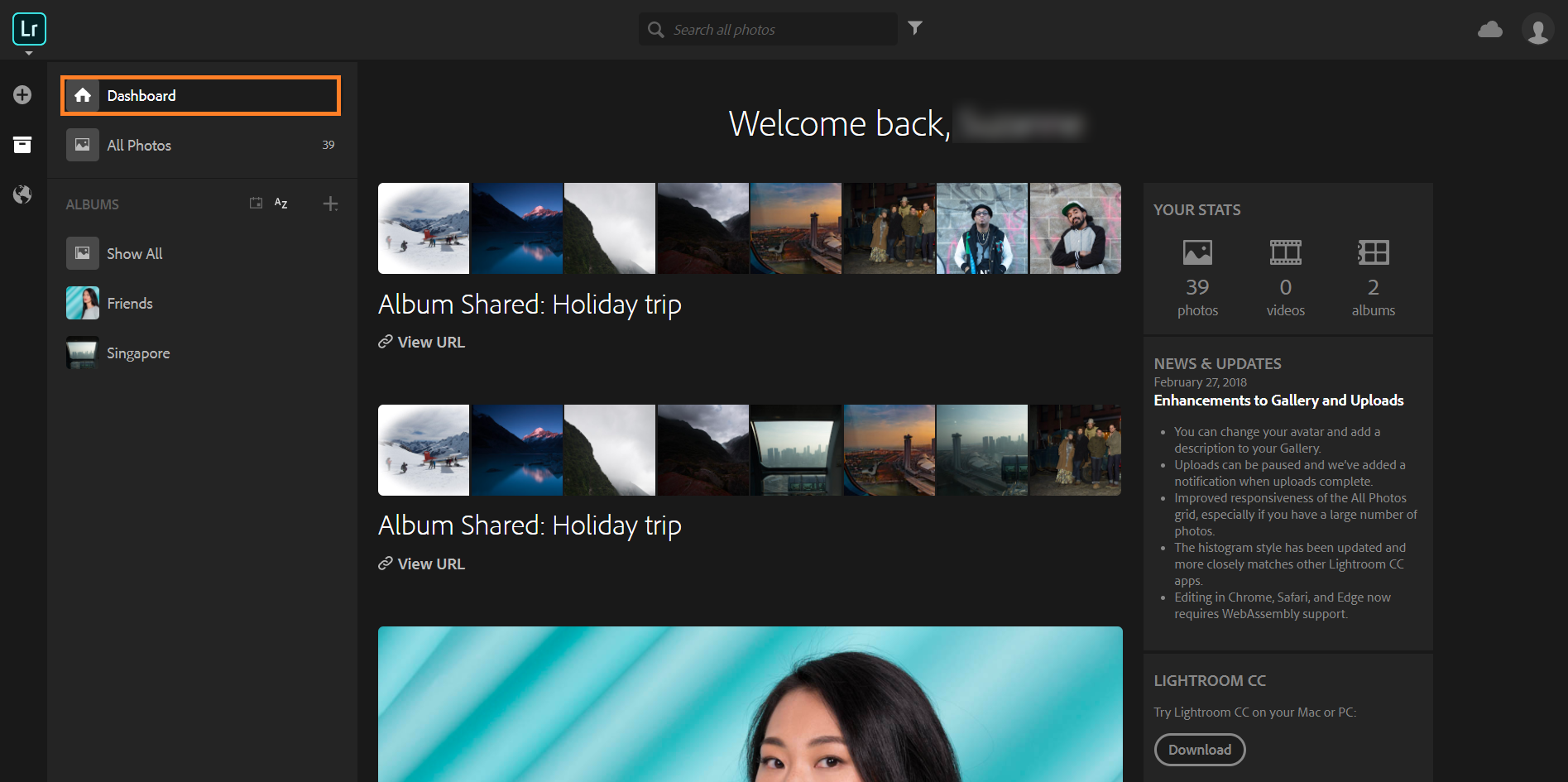 Learn to use Adobe Photoshop Lightroom on the web