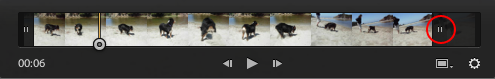 Lightroom Classic CC Dragging the marker to trim video clips