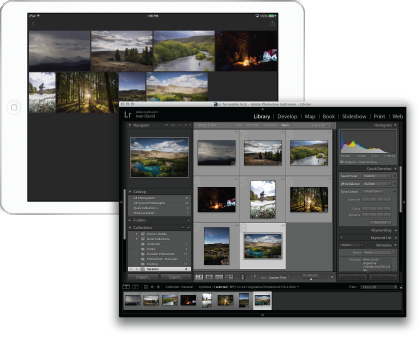 Lightroom mobile for iPad