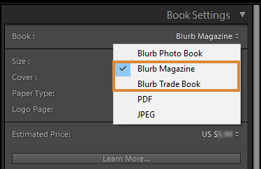 Blurb Magazine and Blurb Trade Book