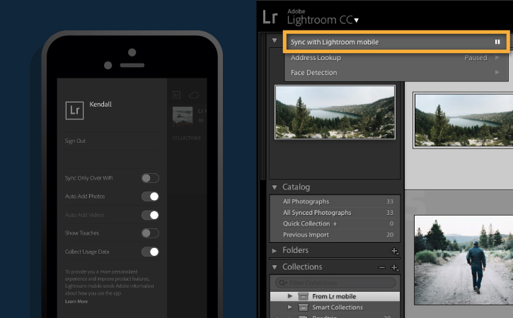 lightroom mobile app for pc