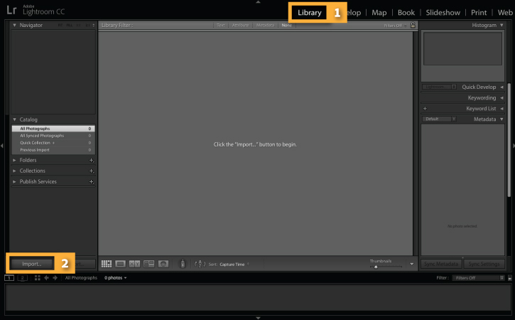 How to easily import your photos | Adobe Photoshop Lightroom