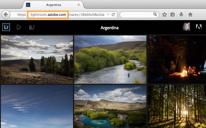 How to create a html web gallery in lightroom.