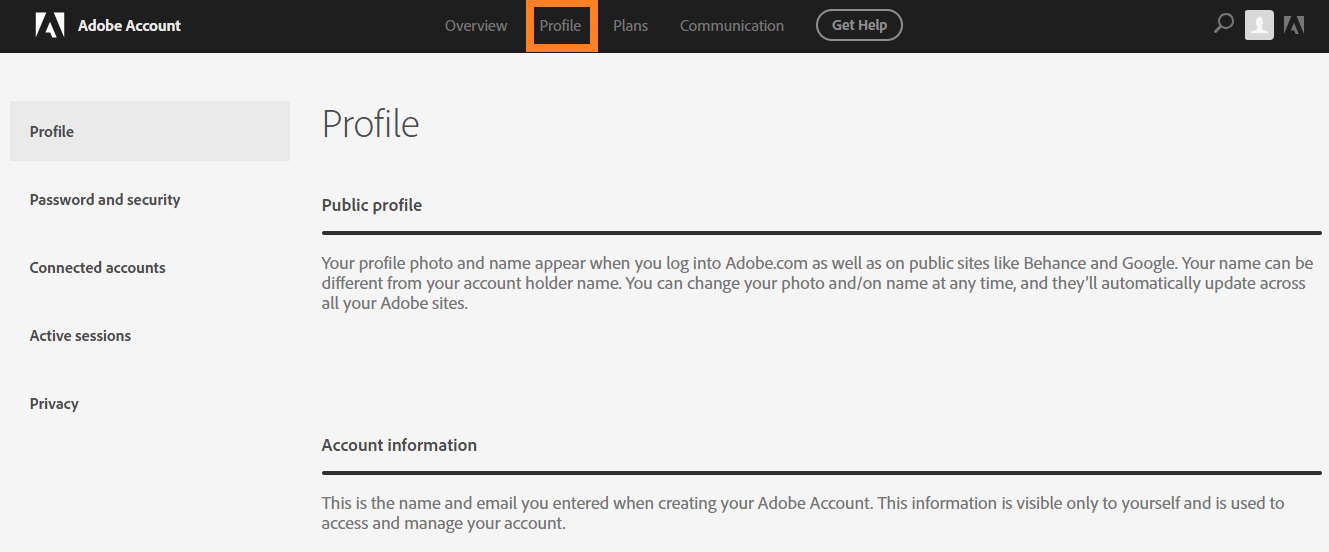 Didn't receive expected email from Adobe