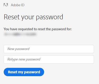 Reset My Password