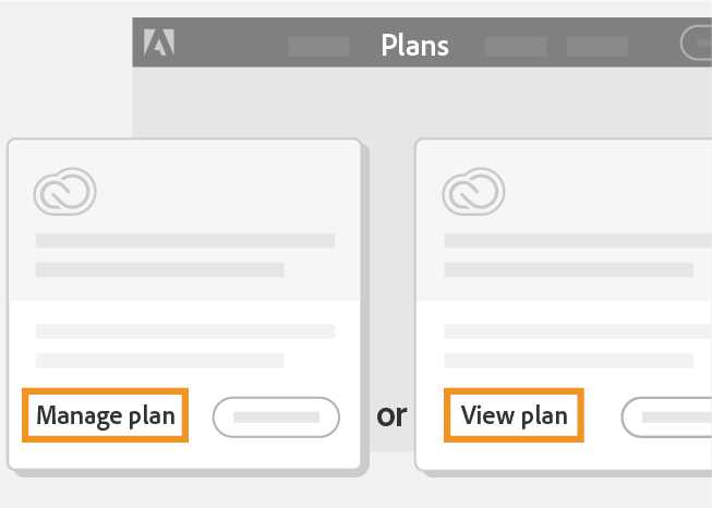 Change Your Adobe Plan Or Subscription