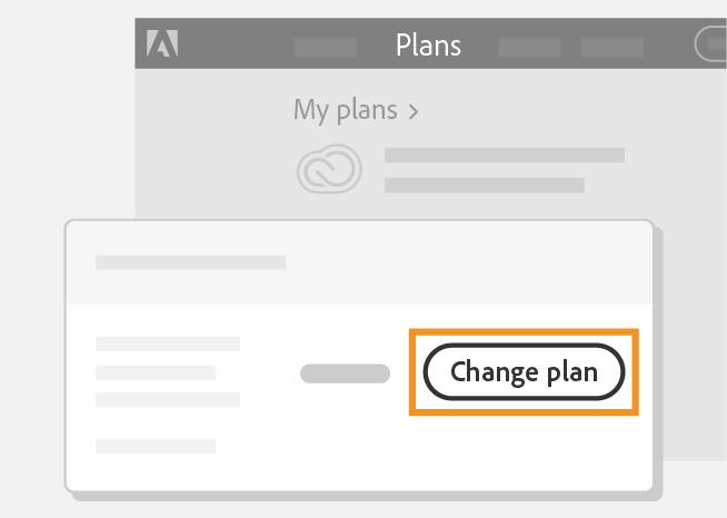 Select Change plan