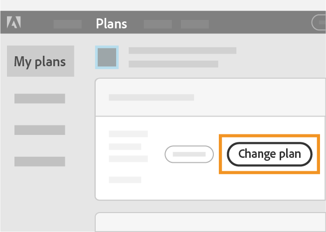 Select Change plan