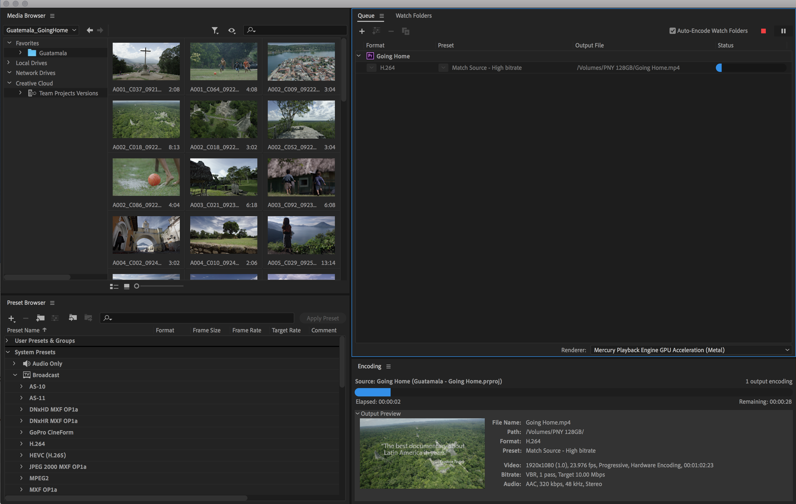 color management in encode and thumbnails