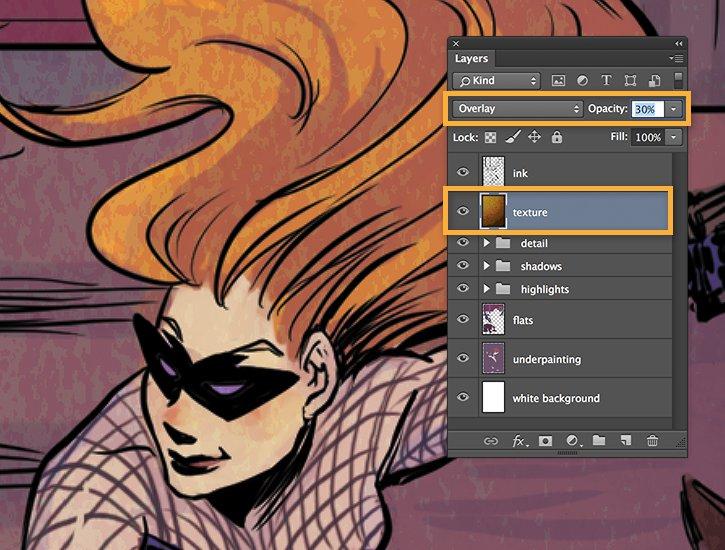 How to color comics | Adobe Photoshop CC tutorials