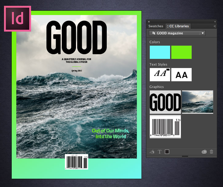 Use Creative Cloud Libraries in InDesign