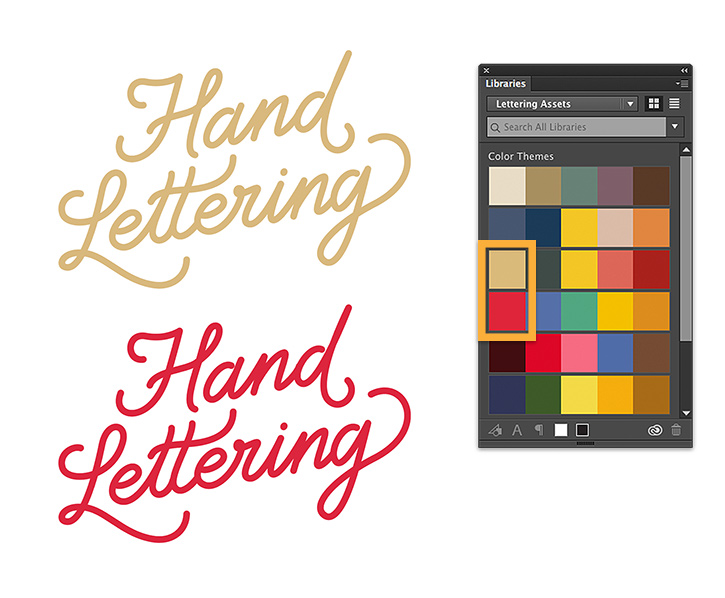 How to create lettering   Adobe Capture tutorials