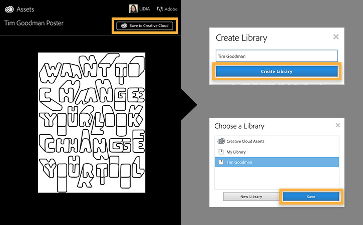 Copy Tim Goodman's library to your Creative Cloud Libraries