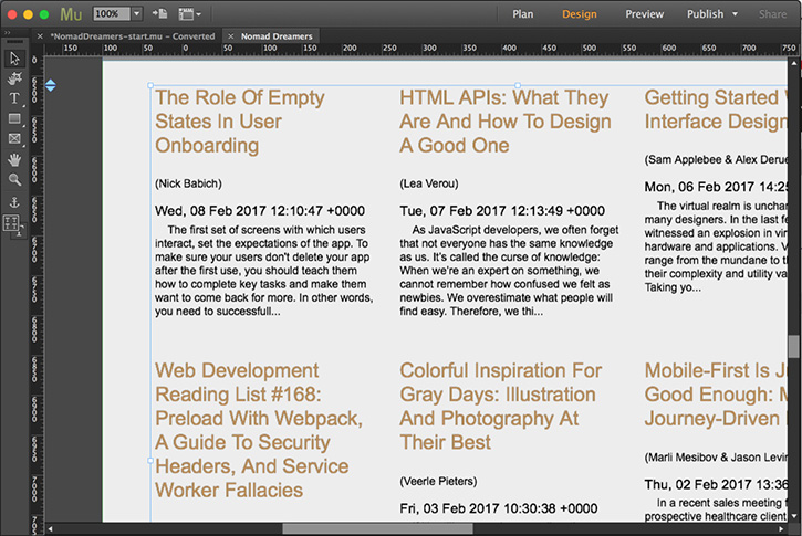 Add a third-party blog to your website in Adobe Muse | Adobe Muse