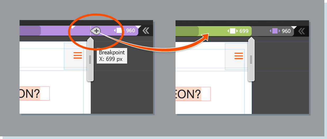 Add a breakpoint wherever your design breaks.