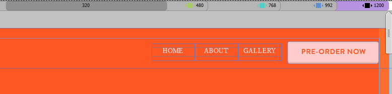 Show or hide objects in responsive layout