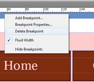 Delete breakpoints by right-click