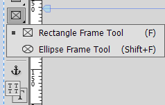 Image frame tool in Adobe Muse