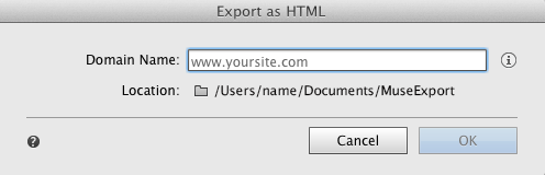 Choose the desired folder location to store the exported files