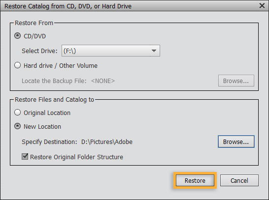 To Finish Clean Up The Catalog Make Sure There Are No Disconnected Or Offline Files For Instructions On These Finishing Steps And More