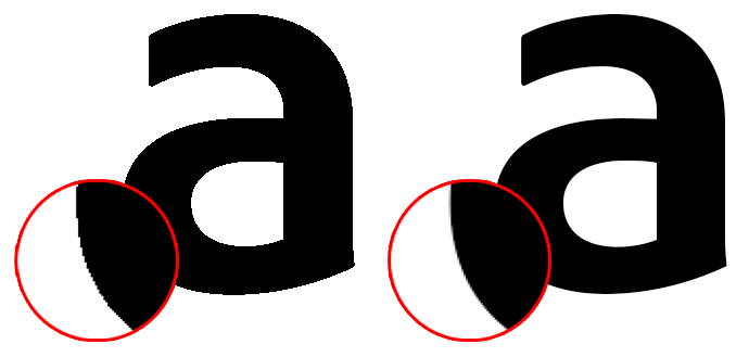 Improve text appearance with Photoshop's anti-aliasing ...