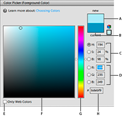 Adobe Color Picker