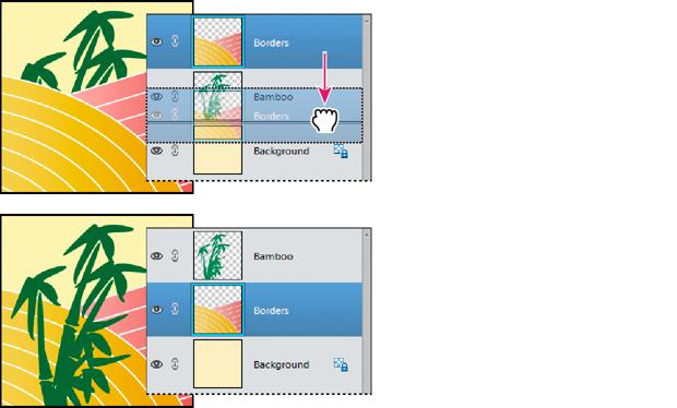 Change layer stacking order