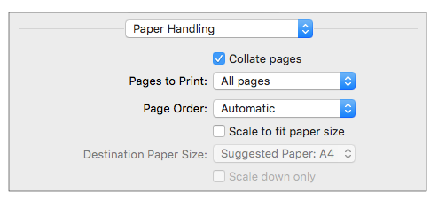 page-handling