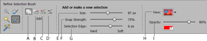 Selection Edit toolbox