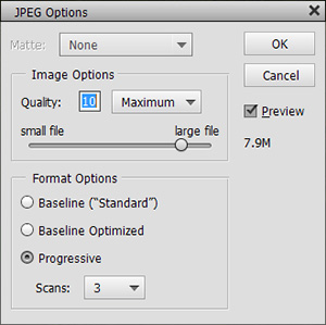 save images in photoshop elements