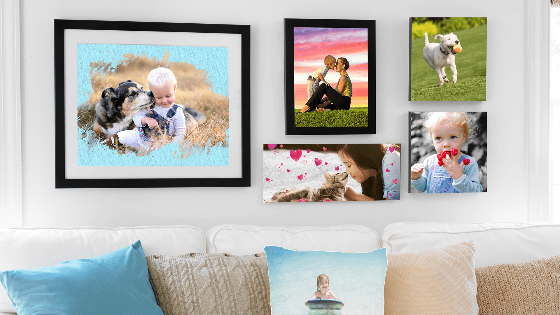 Order photo prints, gifts, and gear