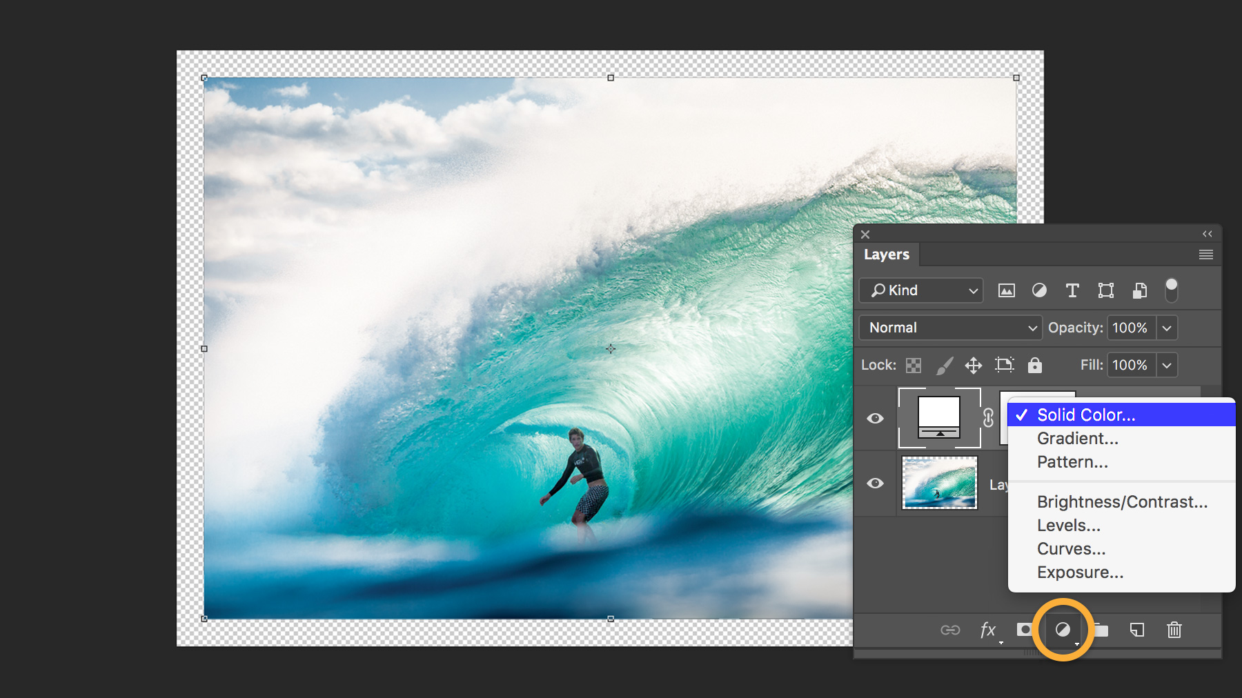 How to add a border or frame around a photo in Photoshop