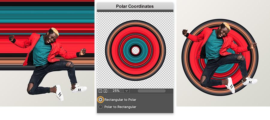 How To Make A Circular Pixel Stretch Effect Adobe