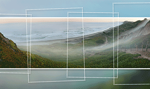 Create a panoramic photo in Adobe Photoshop