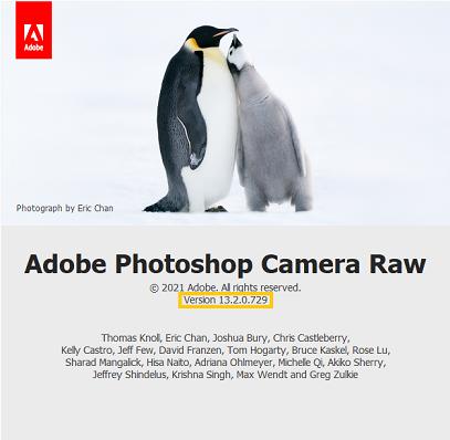 Update information for older versions of Adobe Photoshop