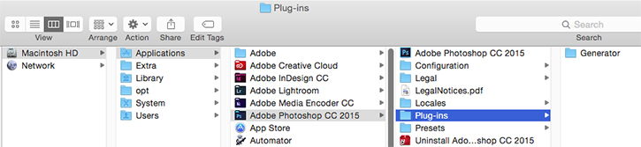 Photoshop plug-ins troubleshooting