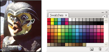 Photoshop Swatches panel