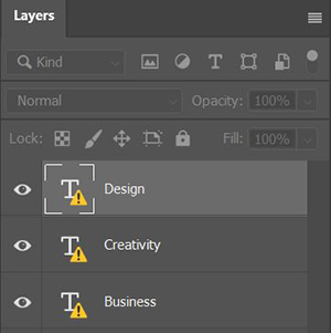 Manage missing fonts that are not available via Adobe Fonts