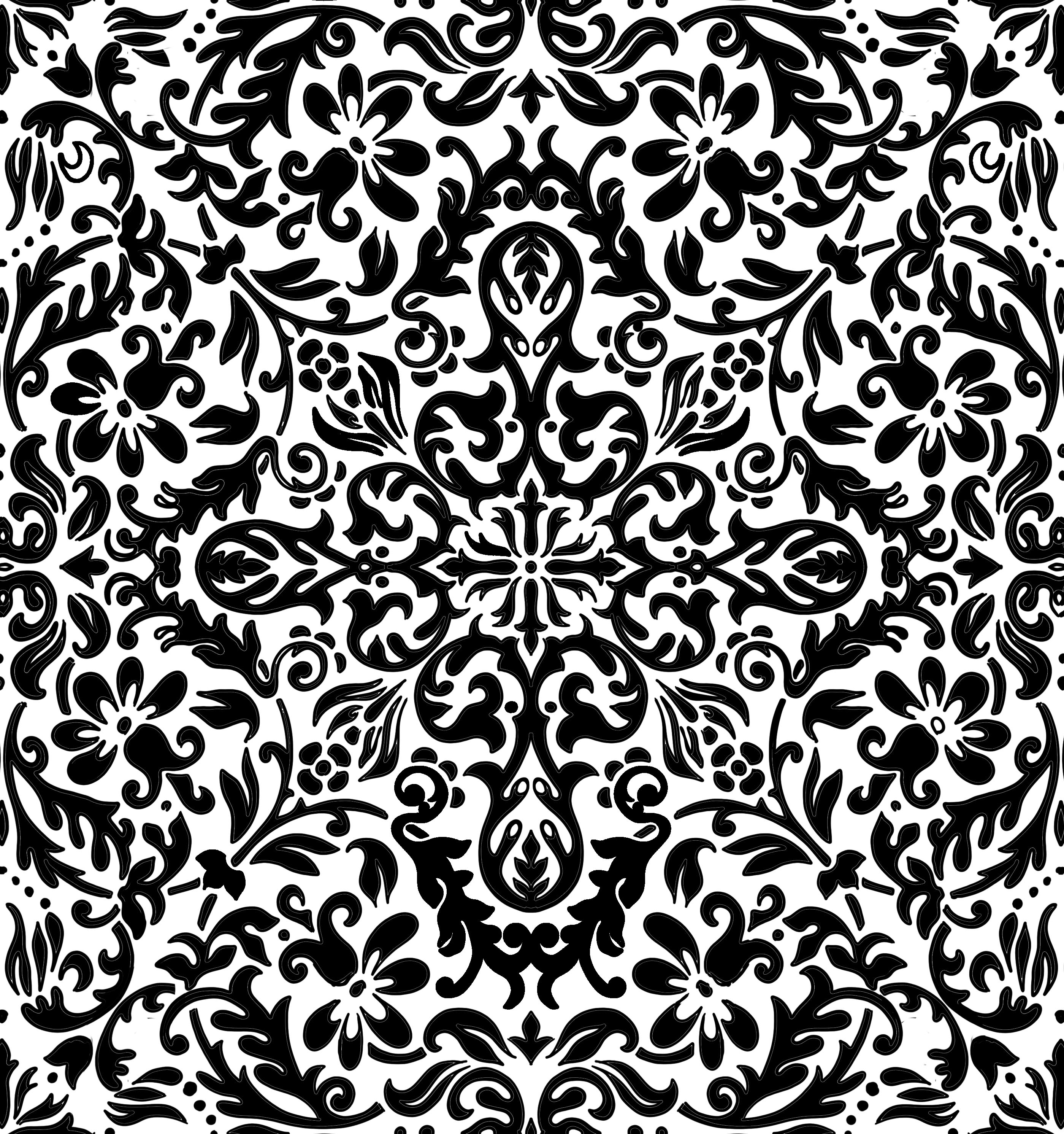 Simetri Modunda Simetrik Desenler Boyama