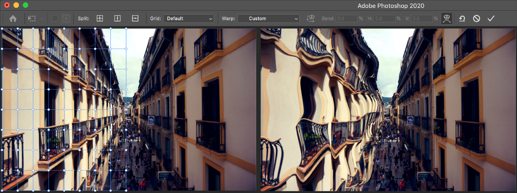 Warp Images Shapes And Paths In Adobe Photoshop