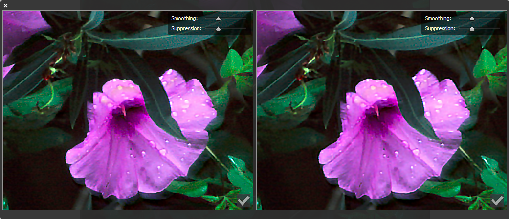 Photoshop Camera shake reduction UI improvements
