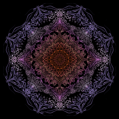 Mandala-illustrationer