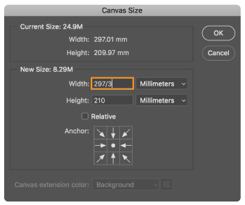 Perform simple math in any numeric field in Photoshop