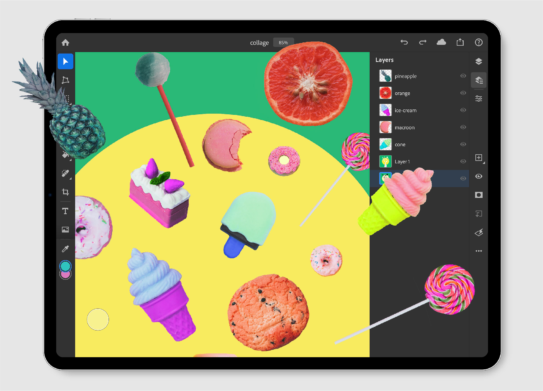 Open and edit large PSDs on your iPad
