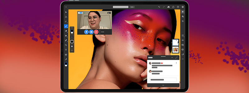 Livestream to Behance as you create