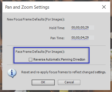 How to use pan and zoom effects in Premiere Elements.